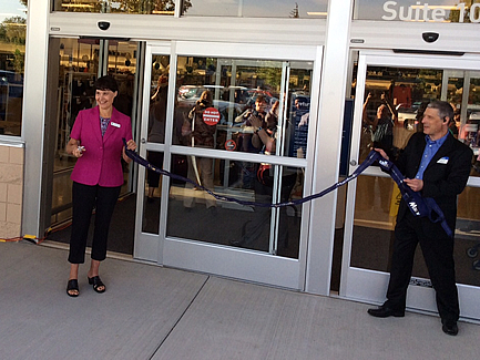 Marshall's Ribbon Cutting